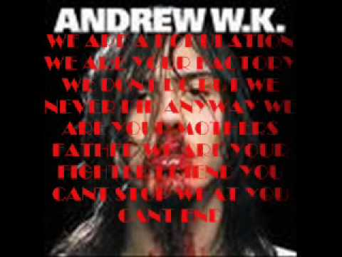 Andrew W. K. I love NYC